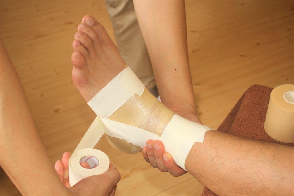 ヤマシロ鍼灸整骨院のテーピング