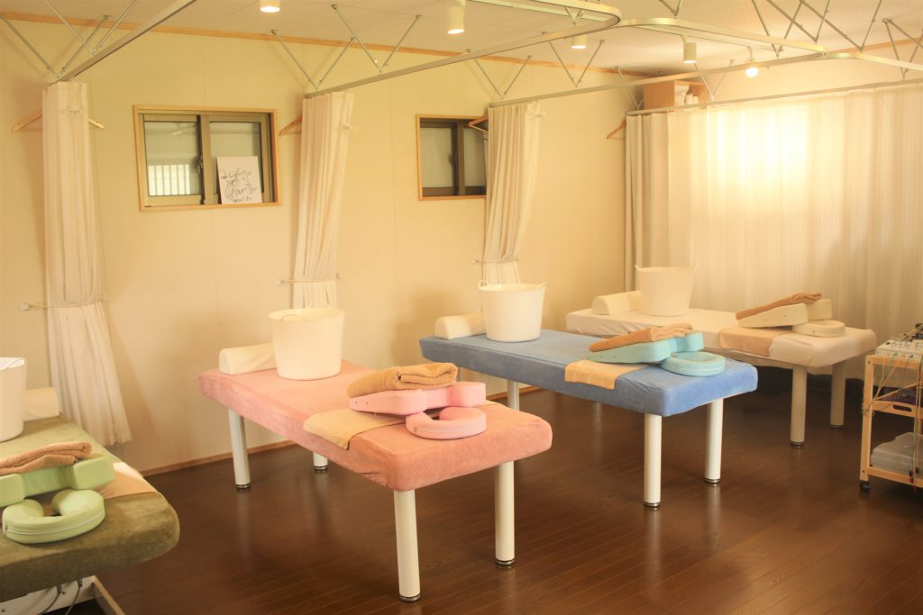ヤマシロ鍼灸整骨院院内の写真