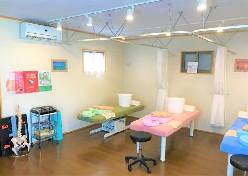 接骨院・整体の広い治療室
